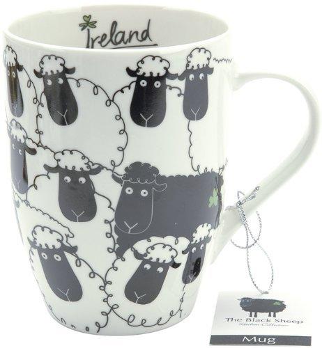 Dublin Gift Company The Black Sheep Ceramic Mug ()