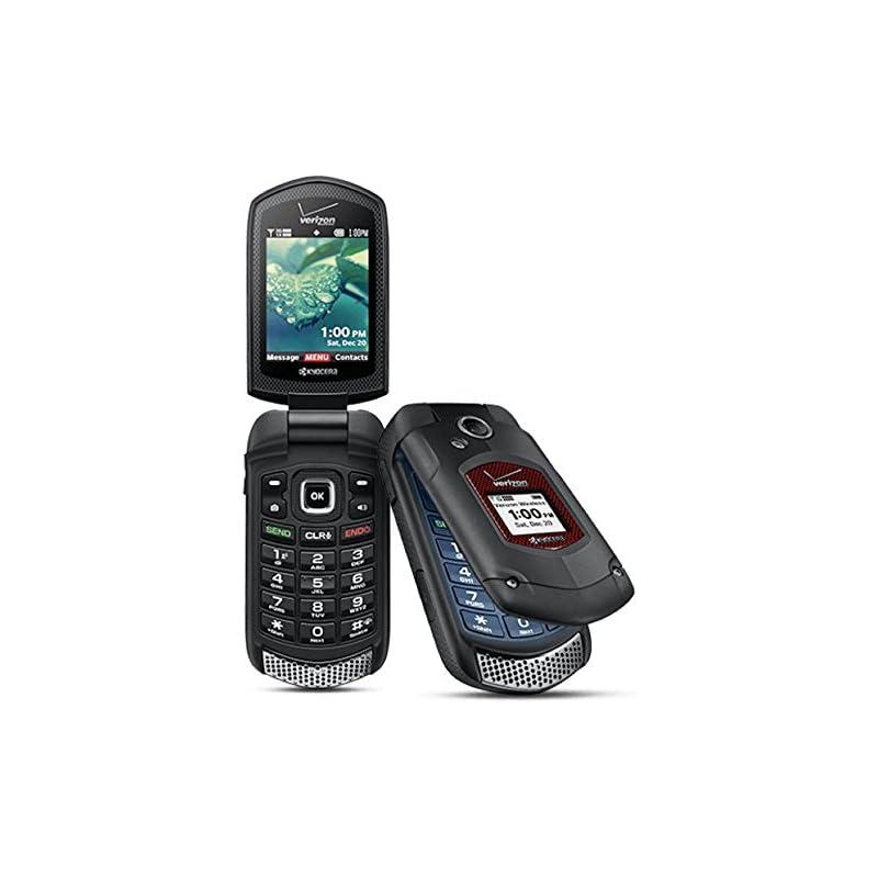 Kyocera DuraXV+ E4520PTT Black Cellphone
