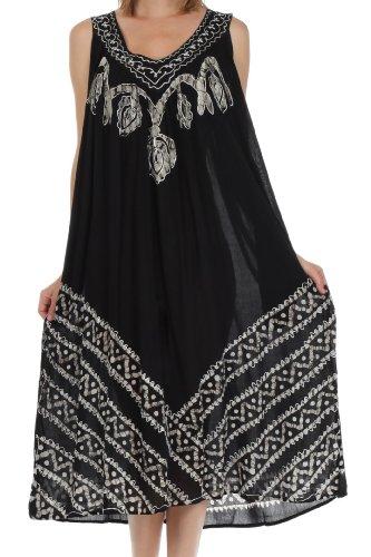 Batik Caftan Dress - 5