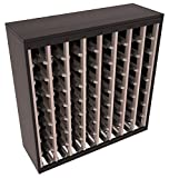 Wine Racks America Redwood 64 Bottle Two Tone Deluxe (Black/Grey Stain) Review