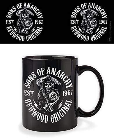 Sons of Anarchy Tasse Redwood schwarz