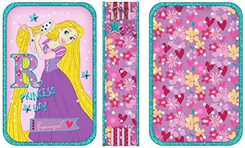 (Graffiti Disney Princess Pencil Cases, 20 cm, Pink (Lilac))