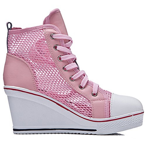 Maille Sneaker Rose Donna Donna Padgene Maille Donna Padgene Padgene Rose Sneaker Sneaker Maille Rose OqnHwxvg