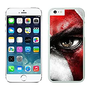 NEW DIY Unique Designed Case For iphone 6 plus Kratos iphone 6 plus White 5.5 TPU inch Phone Case 241