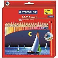 Staedtler 137 C 48 Luna Water Colour Pencil - Pack of 48 (Multicolour)