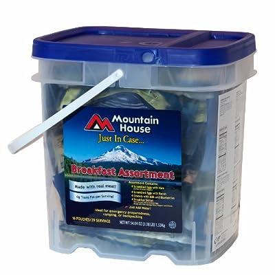Mountain House Just In Case...Breakfast Bucket
