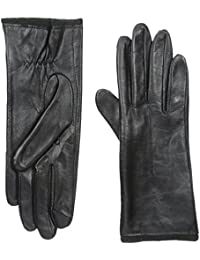 Women's Genuine Leather Glove with Touch-Screen Technology