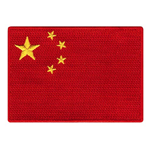 People's Republic of China Flag Embroidered Patch Chinese Iron-On National ()