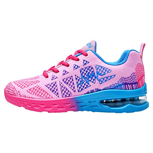 Mesh Fashion Athletic Pink Running Sneaker Shoes Cushion Training Air Sport Padgene Unisex Breathable Hf5ORqtaw
