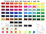 Knicker Poster Color in Bottle 24 Color Set