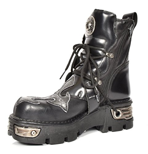 Leather Boots up Of Shoes Leather Rock House New Top Rockstar Design Lace Hi Ankle Silver Style Cross xWqwBFnIdn