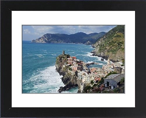 Framed Print of Clifftop village of Vernazza, Cinque Terre, UNESCO World Heritage Site - Clifftop Village