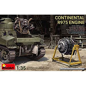 MiniArt 35321 - Continental R975 Engine WWII 1/35 Scale 8