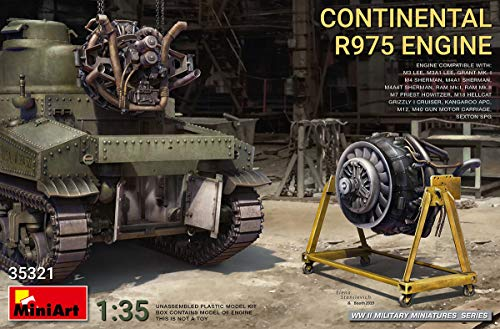 MiniArt 35321 - Continental R975 Engine WWII 1/35 Scale 1