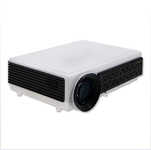 ZY Proyector de Cine en casa, proyector portátil Mini LED ...