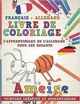 Livre De Coloriage Francais Allemand I L Apprentissage De