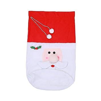 Xuxuou Bolsa de Regalo para Navidad de Santa Saco de ...