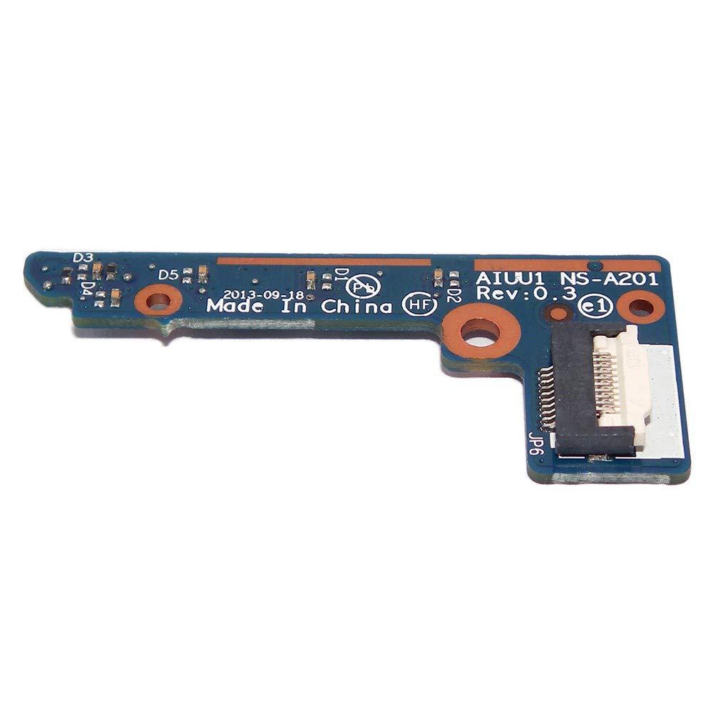 Amazon.com: OEM Power Button Board NS-A201 for Lenovo Yoga 2 ...