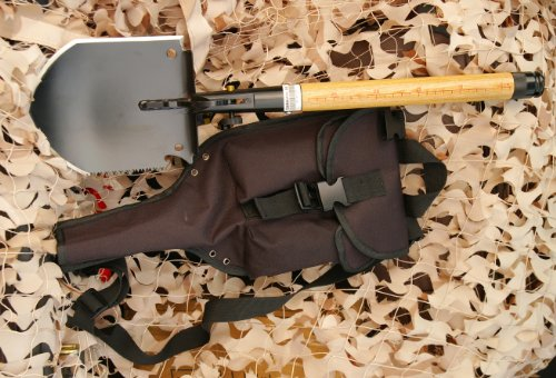 Chinese Military Shovel Emergency Tools WJQ-308 II with Original Waterproof Cases Bag Kit by WJQ (Image #1)