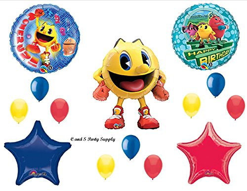 PAC MAN ARCADE VIDEO BIRTHDAY PARTY Balloons Decorations