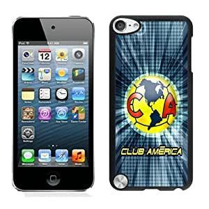 Club America 7 Black Case for iPod Touch 5,Prefectly fit and directly access all the features