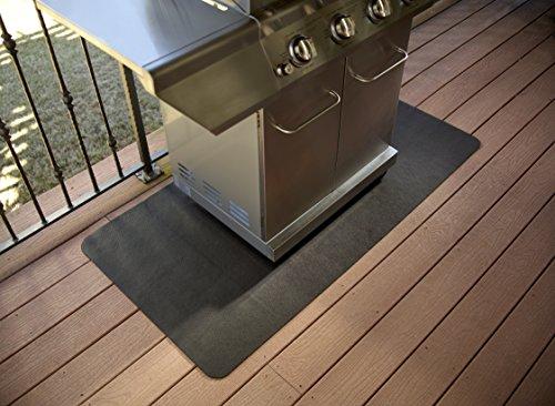 Diversitech Outdoor Gas Grill Bbq Floor Mat Absorbent