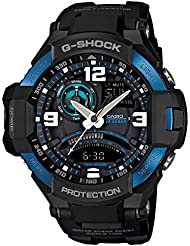 Casio G-Shock GA1000-2B Master of Gravity Stylish Black / One Size Mens Watch