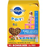 Cheap PEDIGREE Puppy Growth & Protection Dry Dog Food Chicken & Vegetable Flavor, 36 lb. Bag