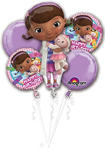 Doc McStuffins Birthday Bouquet of Balloons]()