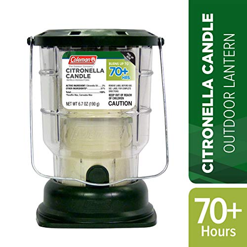 Coleman 70+ Hour Outdoor Citronella Candle Lantern