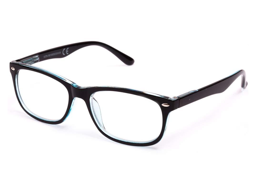 voir de pr/ès +2.5 charni/ères de ressort lunettes de Homme et Femme Unisexe avec monture de P/âte 803 Pack de 4/lunettes de Lecture Vista fatigu/ée presbytes pour lire