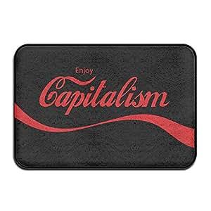 Enjoy capitalismo interior/al aire libre Felpudo 40x 60cm