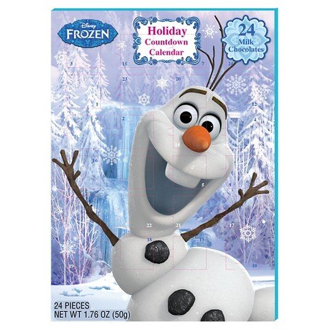 Frozen Olaf Advent Countdown Calendar Disney Fun for the Holidays