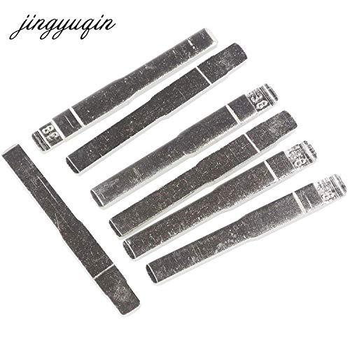 FIESTA jingyuqin 15pcs/Lot #38 Folding Remote Car Key Blank for Ford Focus Mondeo CMAX Galax Flip Uncut Key Blade No. 38