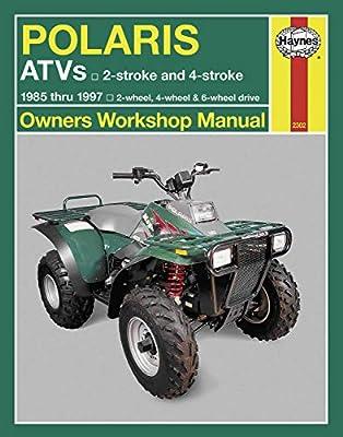 Haynes Manuals Polaris Atv 85-97 N/Amanual Polaris Atv 85 97 M2302 New