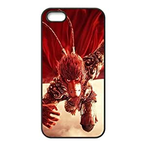 Quotes protective Phone Case Monkey King Hero Is Back For iPhone 5, 5S NP4K03107
