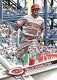 2017 Topps Series 2 #540 Billy Hamilton Cincinnati Reds Baseball Card