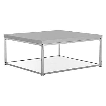 Safavieh Malone Coffee Table, Grey/Chrome