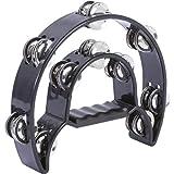 Maxam HHTAMB Maxam Double Cutaway Tambourine- Away Tambourine