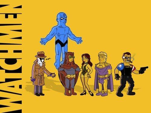 Watchmen Movie Series 1 + Series 2 Action