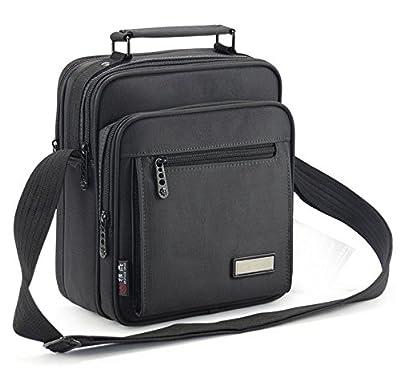 Black Nylon Busniess Carrying Sleeve Shoulder bag for iPad Pro 9.7 / iPad Air 2 / Samsung Galaxy Tab A 10.1 With Stylus / Tab A Nook / Tab 4 10.1 Advanced / Tab S2 9.7 / Tab E 9.6