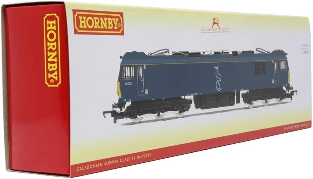 Era 10 Locomotive Hornby R3740 Caledonian Sleeper Class 92 92023 Co-Co Electric