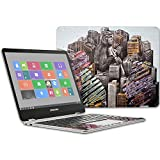 MightySkins Skin for Samsung Chromebook Plus 12.3''(2017 - Big City Monkey | Protective, Durable, and Unique Vinyl Decal wrap Cover | Easy to Apply, Remove, and Change Styles | Made in The USA