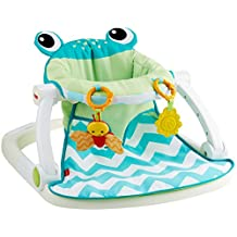 Fisher-Price Sit-Me-Up Floor Seat-Citrus Frog