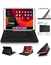 Smart Keyboard Case Wireless Keyboard Leather Stand Cover For Samsung Galaxy Tab S7 (11.0 inch ) ( T870 - T875 - T876B ) - Black