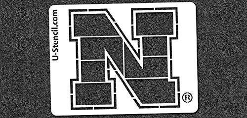 NCAA Nebraska Cornhuskers 07094 Mini Stencil Craft Kit 11 x 14.5 inches by U-Stencil