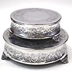 Aluminum Cake Stand For Stylist Host, Set Of 2