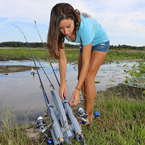 Rod Runner Fishing Rod Carrier Pro 5 Portable Rod Rack