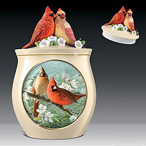 The Bradford Exchange Sweet Tweets Songbird Ceramic Cookie Jar By Joe Hautman (Candy Jars For Sale compare prices)