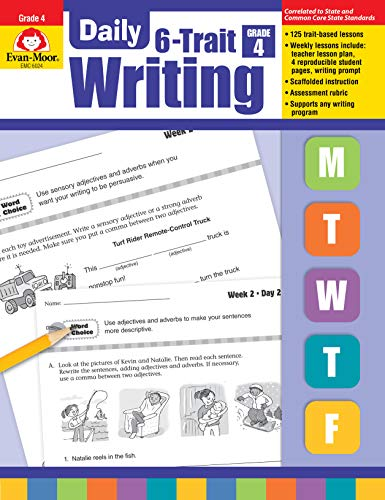 Evan-Moor Daily Math Practice, Grade 3 - Teacher's Edition, 36 Weeks of Math Activities for Third Graders (Daily 6 Trait Writing) ()